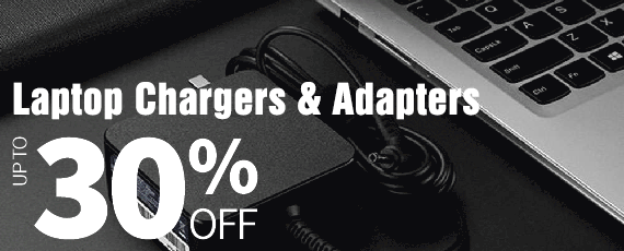 Laptop Chargers & Adapters, UP TO 30% OFF