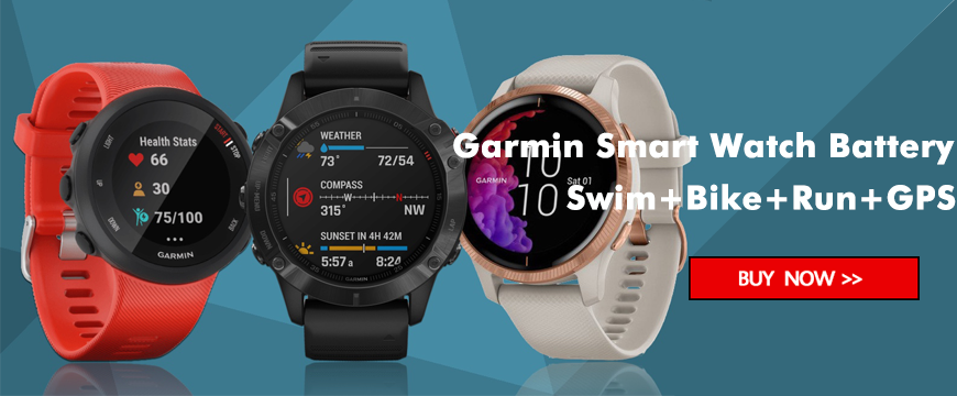 Garmin Smart Watch Battery